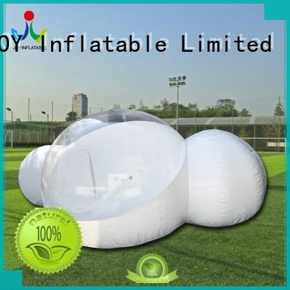 crystal blow up bubble tent