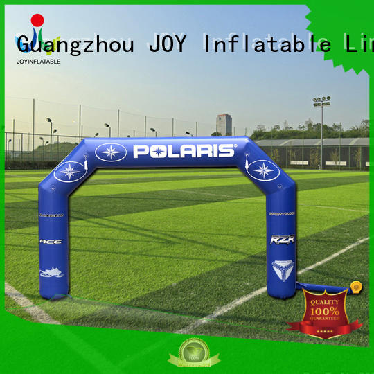 JOY inflatable events inflatable race arch personalized for kids