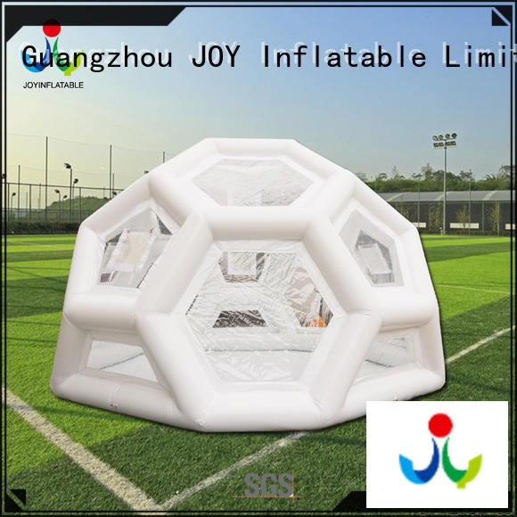 JOY inflatable bubble tent personalized for kids