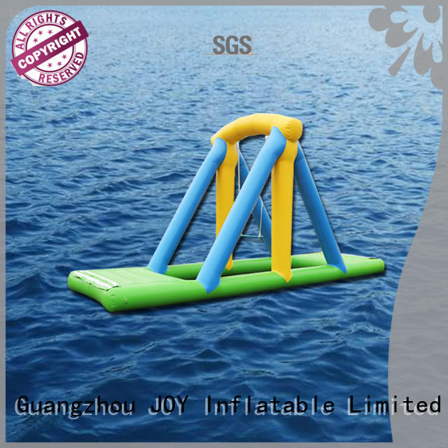 JOY inflatable blow up trampoline personalized for child