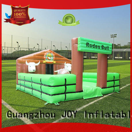 inflatable rodeo bull for outdoor JOY inflatable