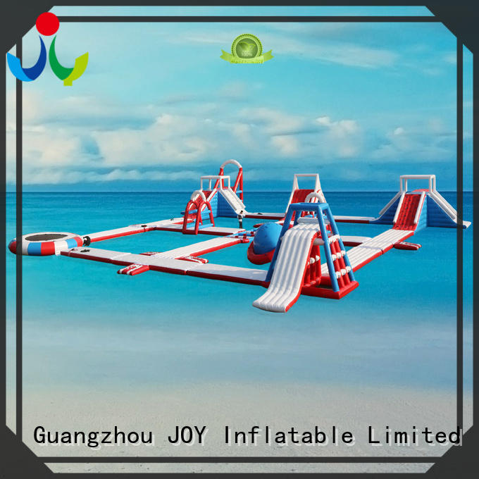 island inflatable lake trampoline with good price for kids