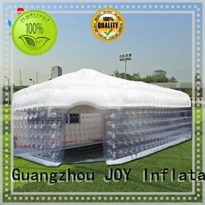8x7x5m led Inflatable cube tent tunnel JOY inflatable Brand company
