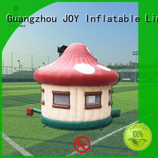 0.4mm PVC Tarpaulin Fireproof Big Inflatable Dome Mushroom Tent for Events