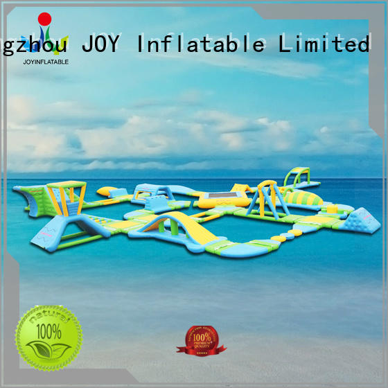 JOY inflatable game floating water park with good price for children
