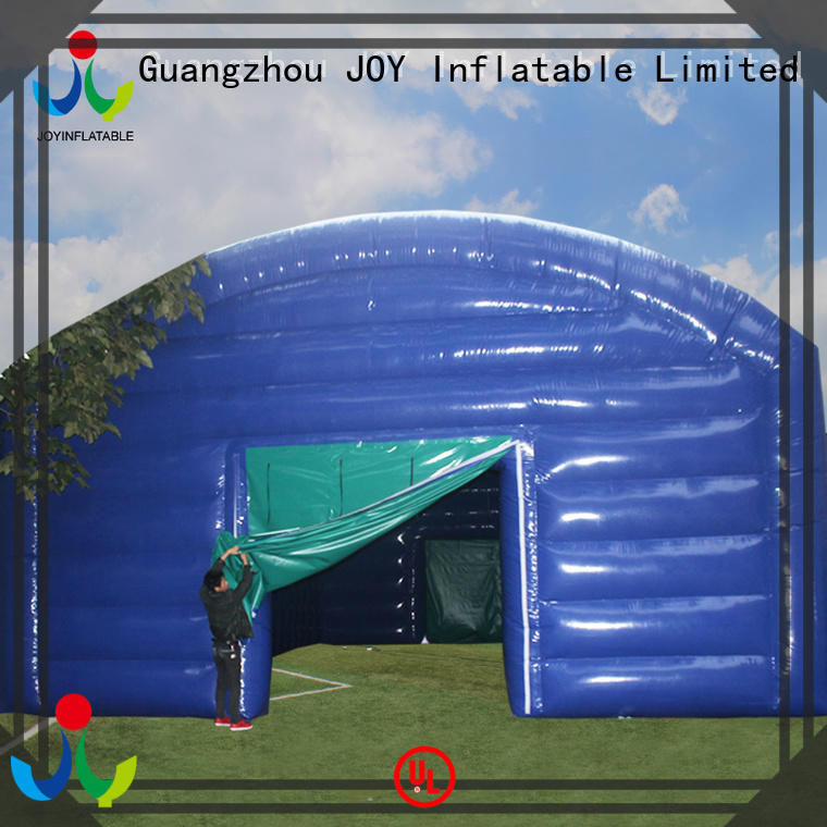 JOY inflatable Brand popular giant inflatable giant tent tunnel factory