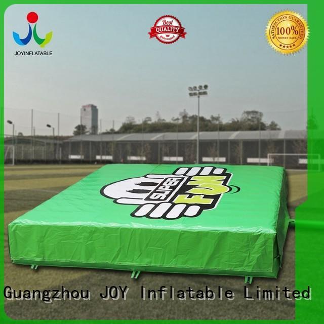 gymnastics irregular snowboard JOY inflatable Brand inflatable crash pad factory