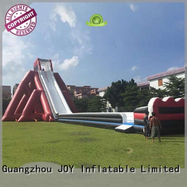 JOY inflatable Brand slide yacht dock water inflatable water slide