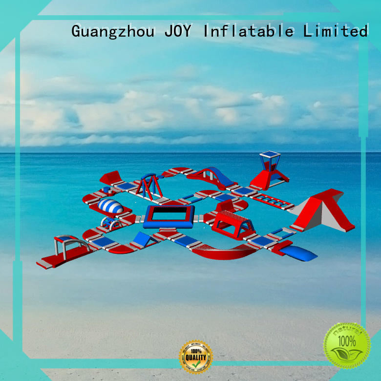 inflatable floating water park course JOY inflatable company