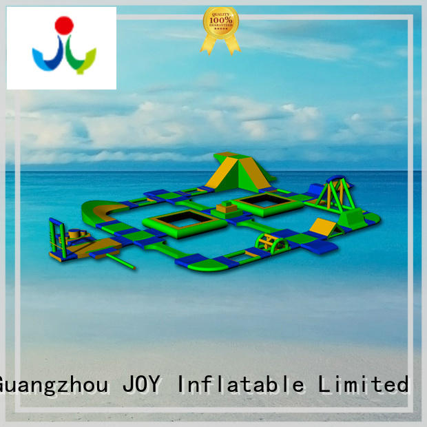 JOY inflatable trampoline water park factory for kids