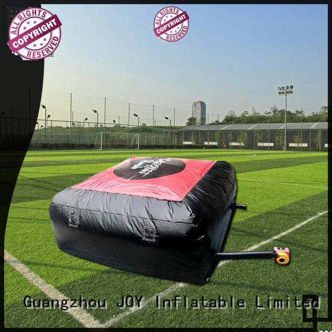 JOY inflatable fmx inflatable stunt air bag manufacturer for outdoor