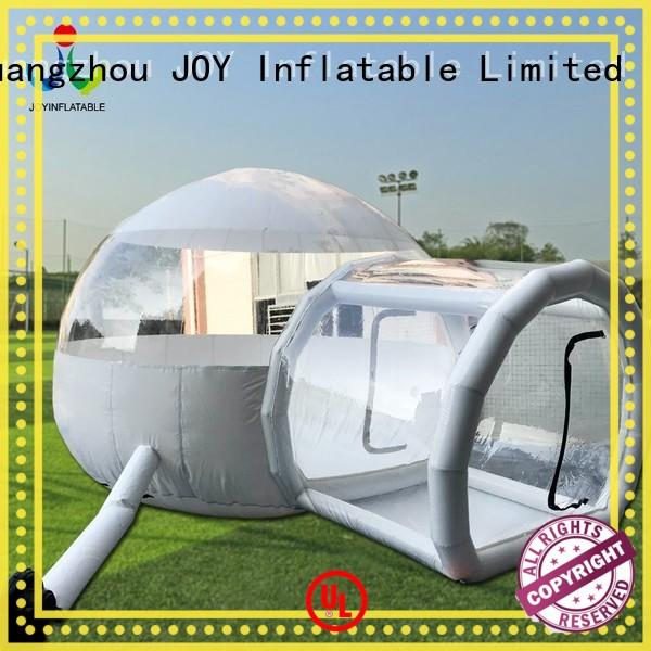 JOY inflatable fireproof inflatable bubble camping tent luxury for outdoor