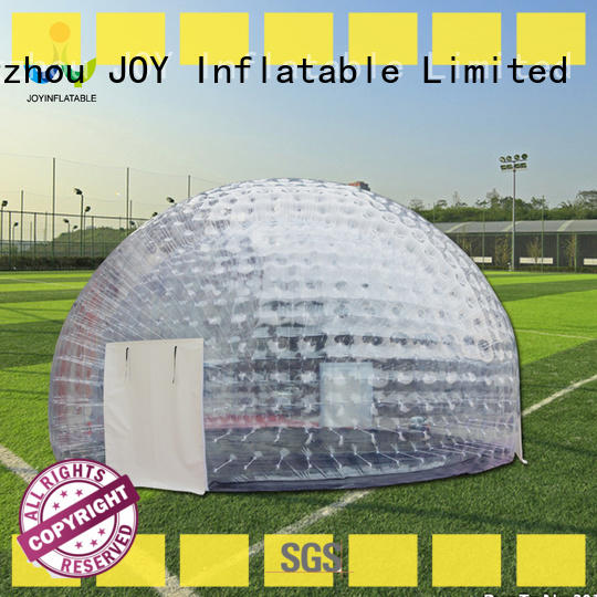 JOY inflatable bubble igloo tent from China for child