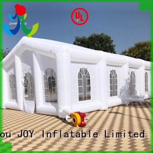 top selling Custom tunnel instant Inflatable cube tent JOY inflatable air