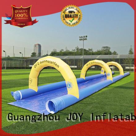top selling slip kids inflatable water slide water yacht JOY inflatable Brand