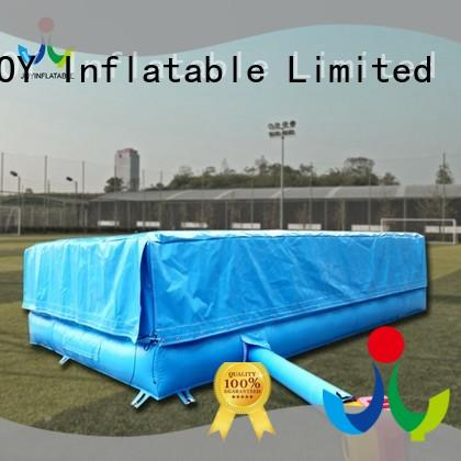 JOY inflatable hill foam pit airbag manufacturer for child