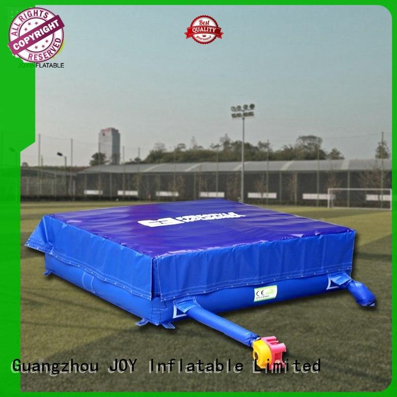 stunt inflatable jump pad directly sale for kids