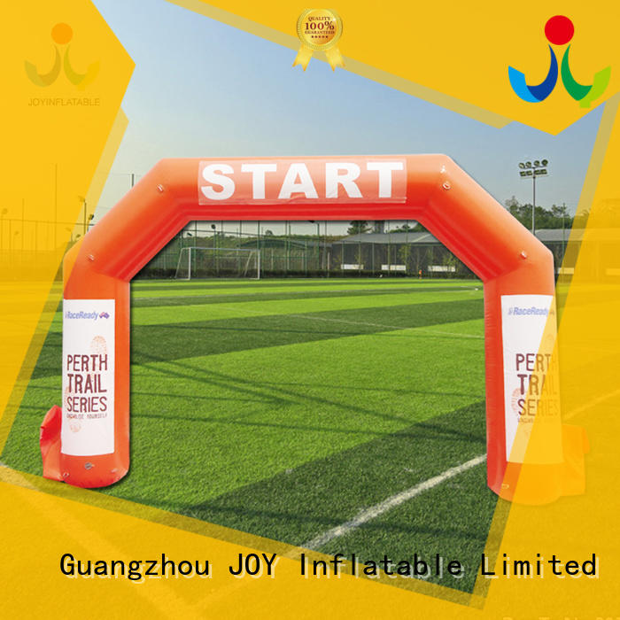 JOY inflatable race inflatable finish line arch factory price for kids