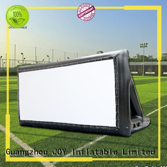 JOY inflatable hill inflatable movie screen directly sale for child
