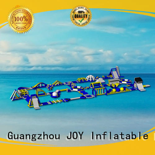 JOY inflatable game floating water trampoline inquire now for outdoor