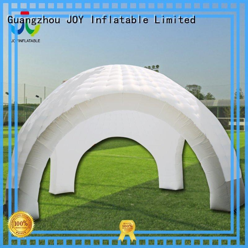 lighting inflatable igloo tent series for children