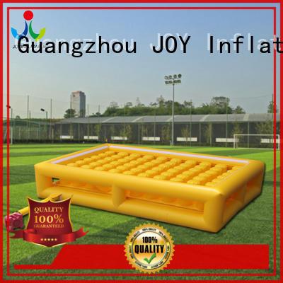 JOY inflatable irregular bag jump manufacturer for children