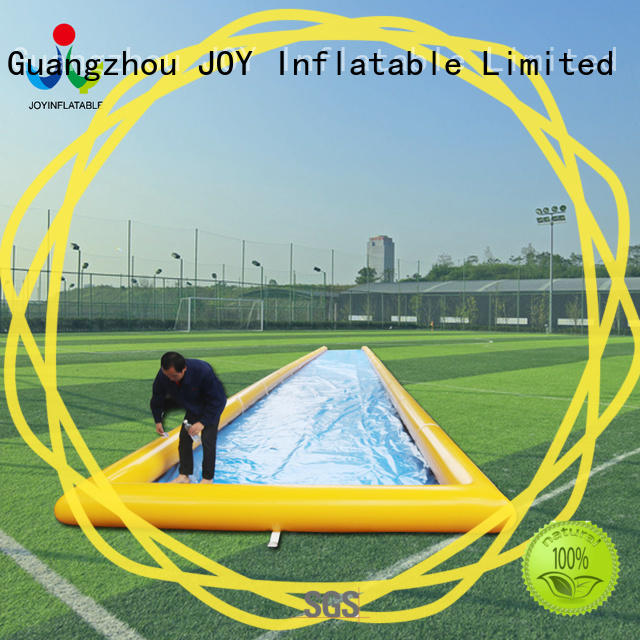 JOY inflatable blow up slip n slide manufacturer for outdoor