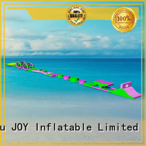 best obstacle inflatable water park for adults JOY inflatable manufacture