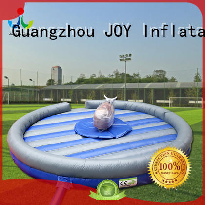 crazy funny mechanical mechanical bull for sale JOY inflatable manufacture