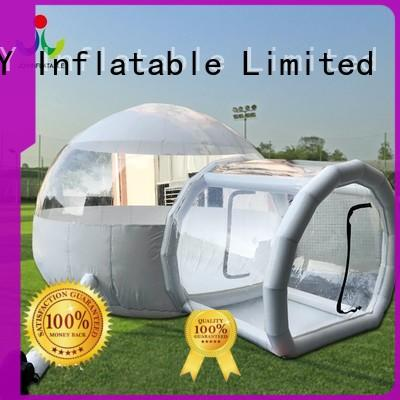 JOY inflatable bubble bedroom personalized for outdoor