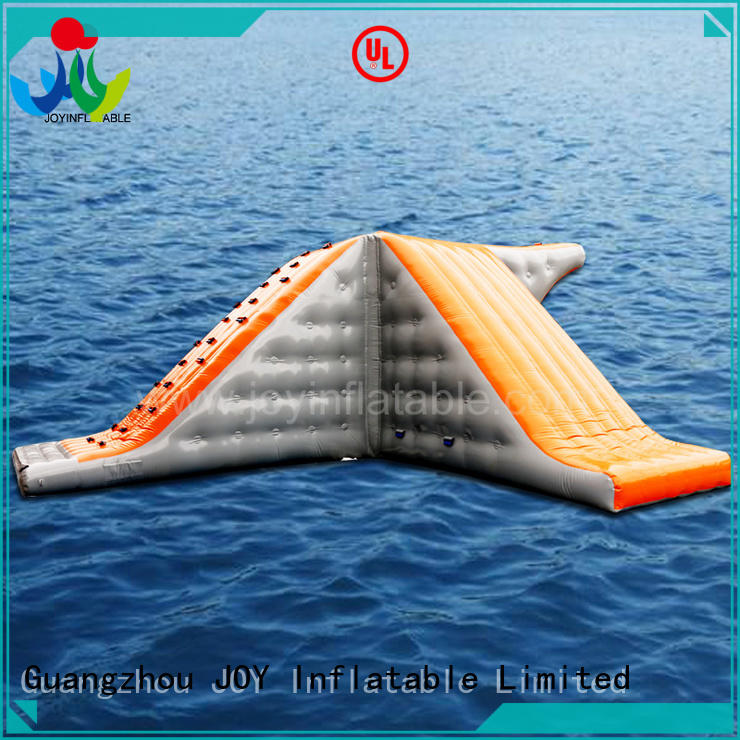 JOY inflatable trampoline water park personalized for outdoor