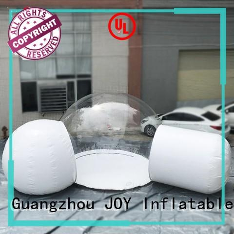 JOY inflatable spherical transparent inflatable bubble tent wholesale for child