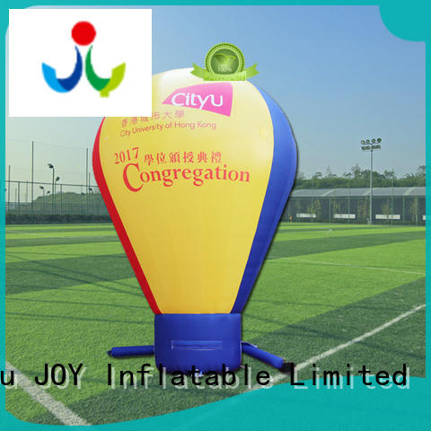 JOY inflatable 08mm inflated balloon customized for outdoor