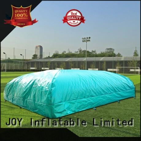 JOY inflatable free stunt airbag for sale wholesale for children