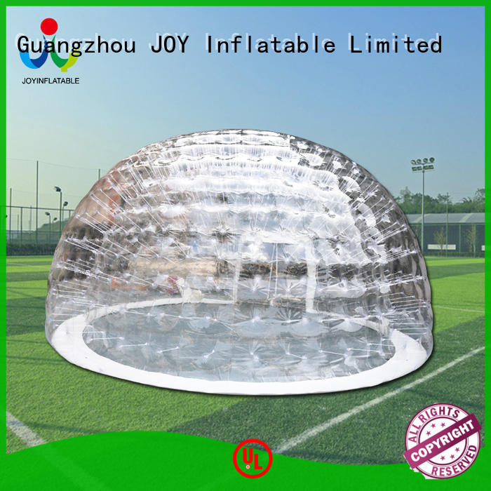 JOY inflatable 08mm blow up dome tent directly sale for outdoor