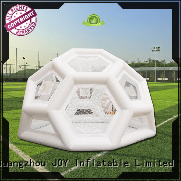 JOY inflatable globe blow up dome from China for outdoor