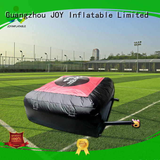 JOY inflatable inflatable jump pad manufacturer for outdoor