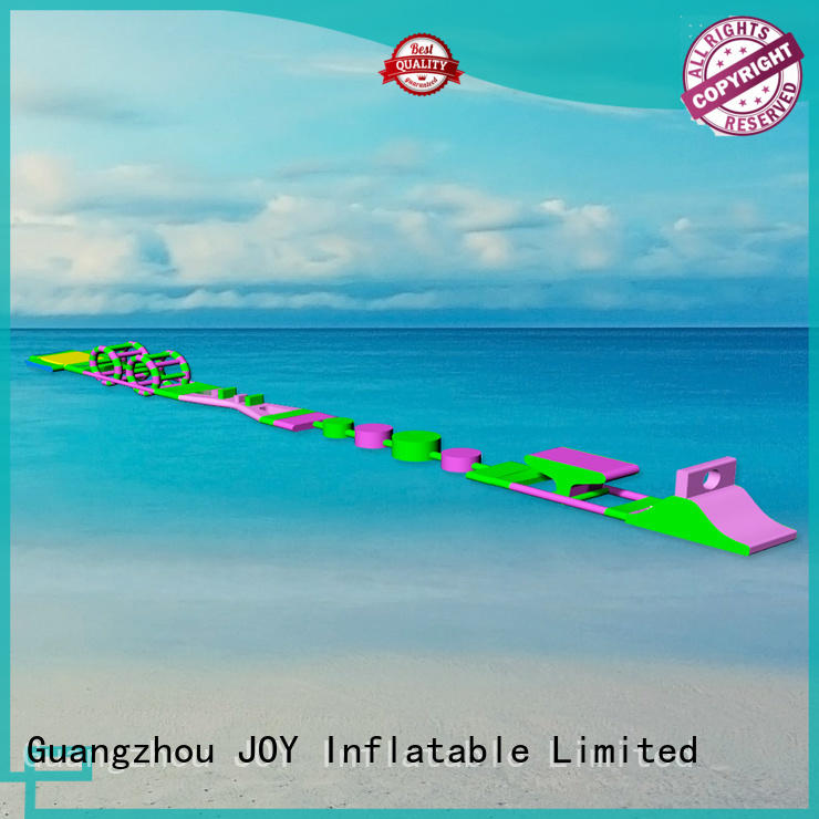 water roller course floating water park JOY inflatable Brand company