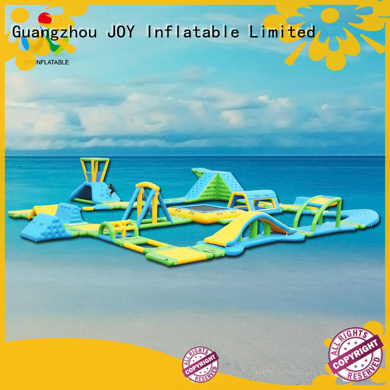 JOY inflatable floating water trampoline inquire now for child