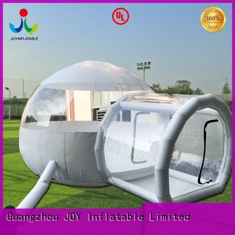 JOY inflatable ice blow up bubble tent factory price for children