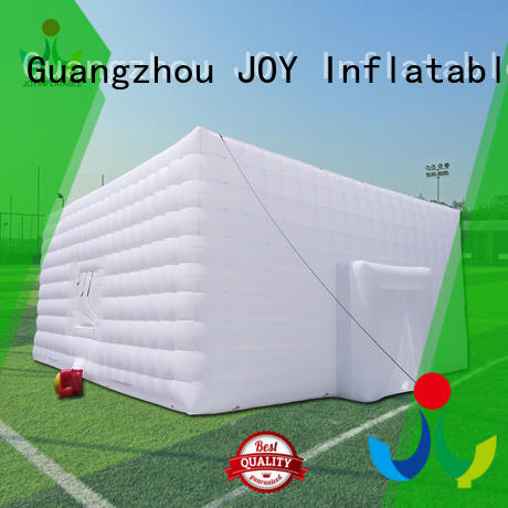 Quality JOY inflatable Brand light Inflatable cube tent
