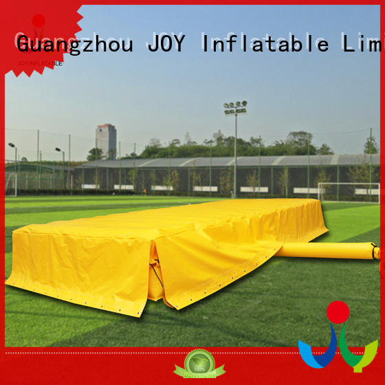 JOY inflatable stunt landing mats customized for outdoor