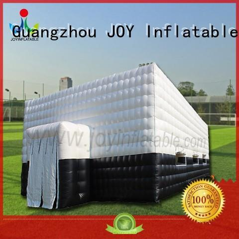 led top selling Inflatable cube tent best JOY inflatable company