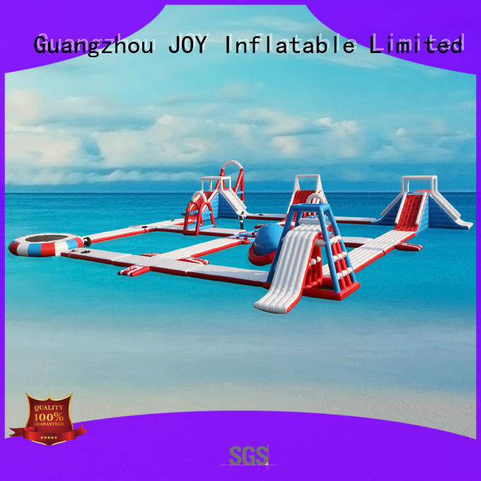 blow inflatable lake trampoline factory for kids