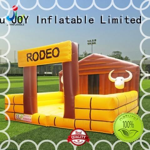 Quality JOY inflatable Brand mechanical bull for sale rock