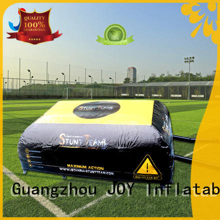 bike stunt pads from China for outdoor JOY inflatable