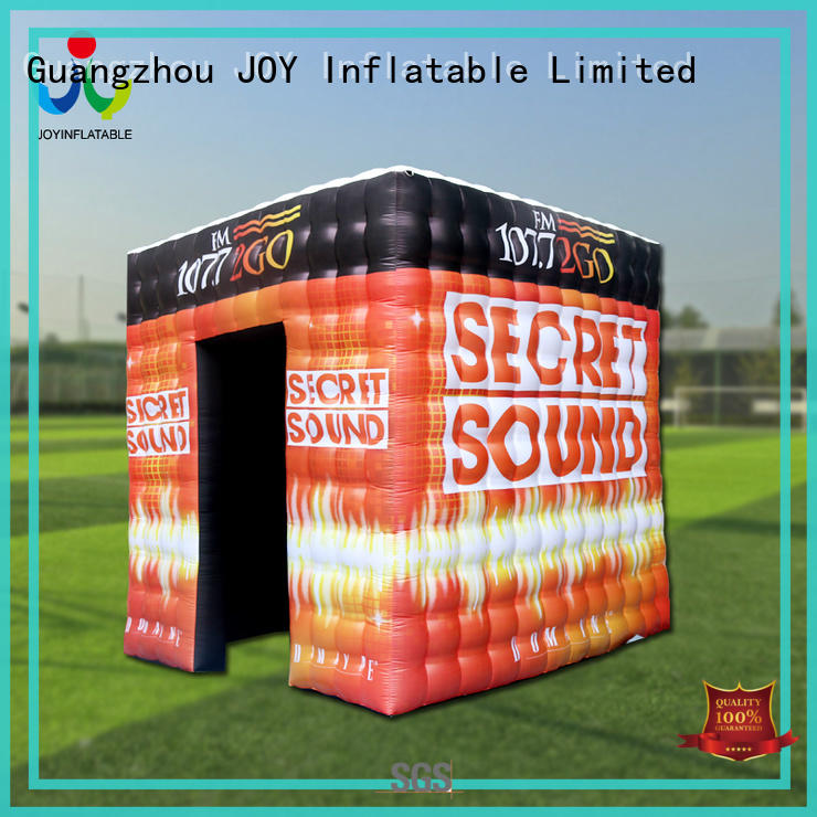 JOY inflatable bridge Inflatable cube tent personalized for children