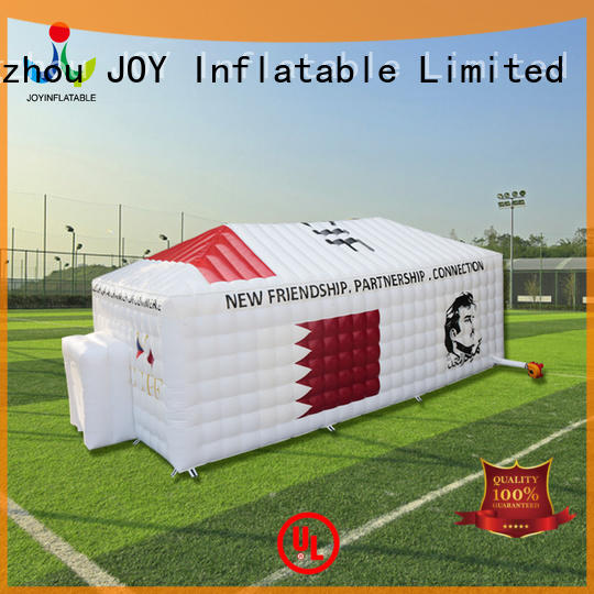 house green inflatable marquee for sale trendy led JOY inflatable Brand