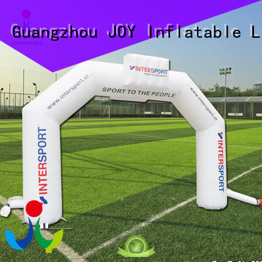JOY inflatable advertising inflatable race arch factory price for child