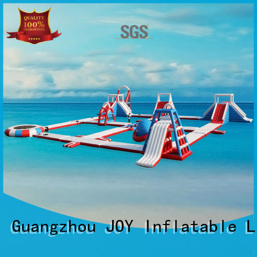 JOY inflatable island floating playground with good price for child